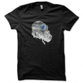 Shirt Masque à gaz spray art noir pour homme et femme
