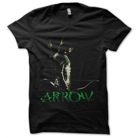 Shirt Arrow noir pour homme et femme
