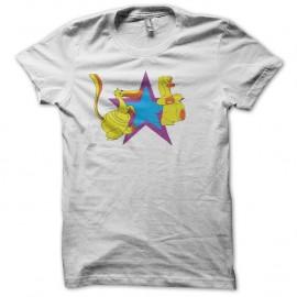 Shirt Les Mondes Engloutis blanc pour homme et femme