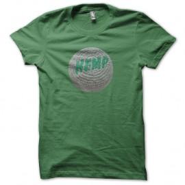 Shirt Hemp Softbag vert pour homme et femme