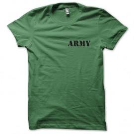 Shirt armée Army vert pour homme et femme