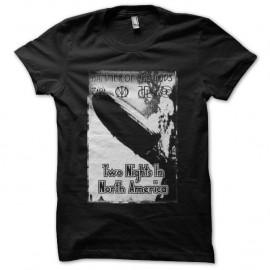 Shirt Led Zeppelin Hammer of Gods pochette noir pour homme et femme