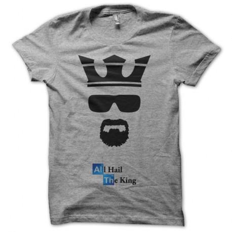 Breaking Heisenberg Bad King The Hail Gris All T Shirt trCxQdshB