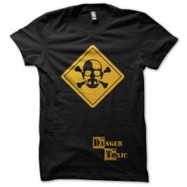 Shirt Breaking Bad Walter White Danger Toxic noir pour homme et femme