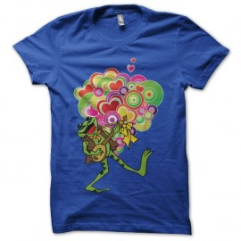 Shirt Love Is All Roger Glover and the butterfly ball bleu pour homme et femme