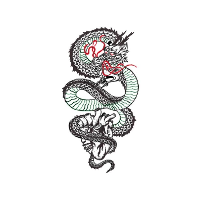 Tatouage Femme Dragon Chinois Tuer Auf