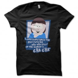 Shirt Liane Cartman South Park noir parodie pour homme et femme