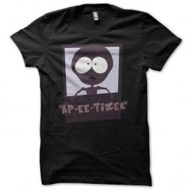 Shirt Marvin South Park parodie noir pour homme et femme