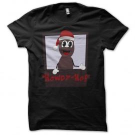 Shirt Mr Hankey South Park parodie noir pour homme et femme