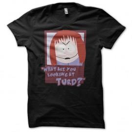 Shirt Shelley South Park parodie noir pour homme et femme