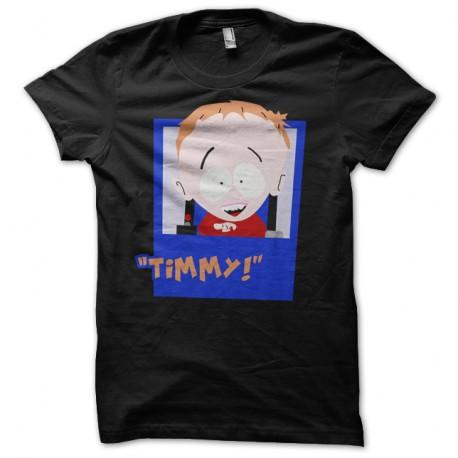 Shirt Timmy South Park parodie noir pour homme et femme