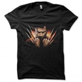 Shirt Wolverine version japonaise noir pour homme et femme