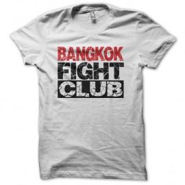 Shirt Bangkok Fight Club blanc pour homme et femme