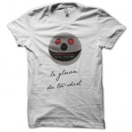 Shirt Gluon du tee-shirt parodie Téléchat blanc pour homme et femme
