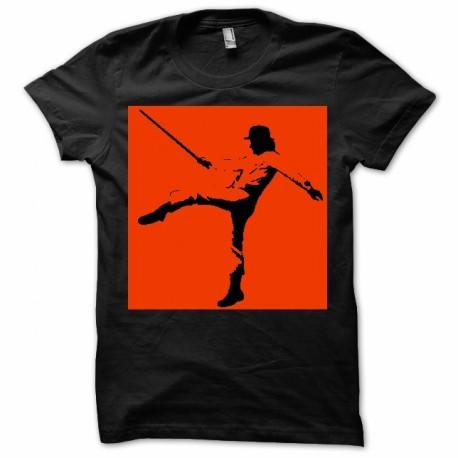 T-shirt orange mécanique édition originale
