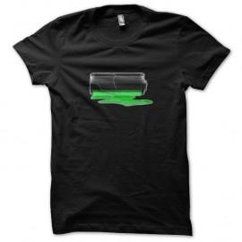 Shirt batterie faible noir pour homme et femme