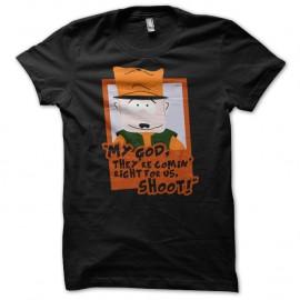Shirt Jimbo South Park parodie noir pour homme et femme