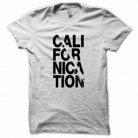 Shirt Californication classic version noir/blanc pour homme et femme