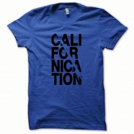 Shirt Californication collector noir/bleu royal pour homme et femme