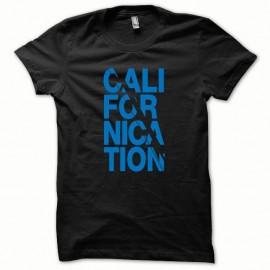 Shirt Californication version normal bleu/noir pour homme et femme
