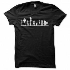 Shirt One piece evolution noir pour homme et femme