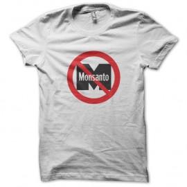 Shirt No Monsanto - Non a monsanto Ogm Blanc pour homme et femme