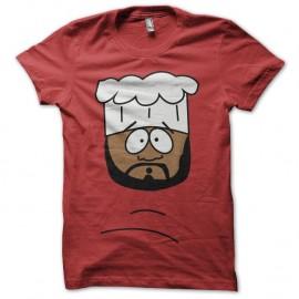 Shirt South Park parodie Chef rouge pour homme et femme