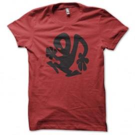 Shirt Richie Hawtin le casseur de platine en rouge pour homme et femme