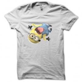 Tee-shirt Moi Moche et Méchant monsieur Minion blanc pour homme et femme