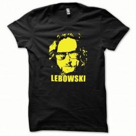 Shirt The Big Lebowski version fashion jaune/noir pour homme et femme