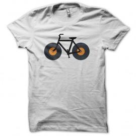 Shirt Vélo techno blanc pour homme et femme