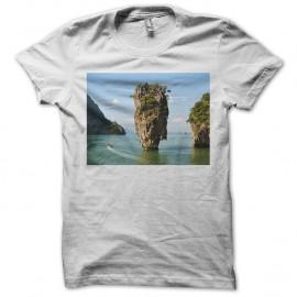 Shirt Koh Tapu blanc pour homme et femme