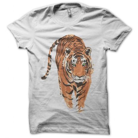 Tatouage Shirt Blanc Sxtqrhcbd Tigre T Chinois SVUzMp