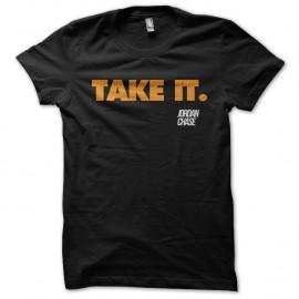 Shirt Dexter Jordan Chase Take It noir pour homme et femme