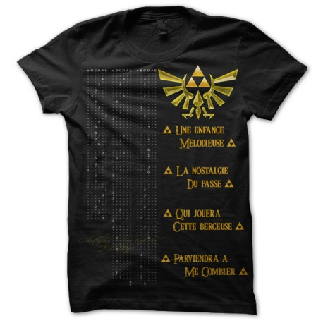 97a69f1108a Tee-Shirt Zelda sur le theme village Cocorico clothing for geek by ...
