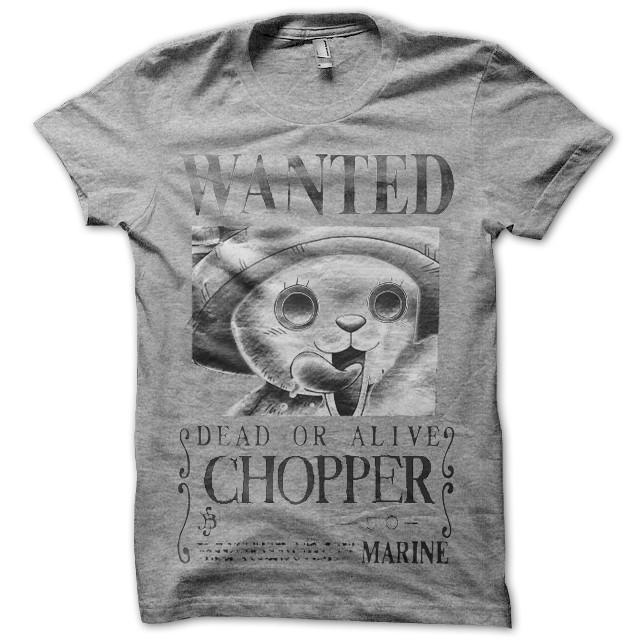 T-shirt one piece avis de recherche chopper