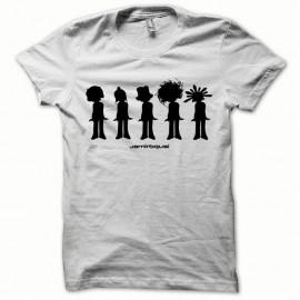 Shirt Jamiroquai noir/blanc pour homme et femme