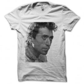 Shirt Luis Rego portrait en trame blanc pour homme et femme