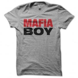 Shirt Mafiaboy hacking gris pour homme et femme