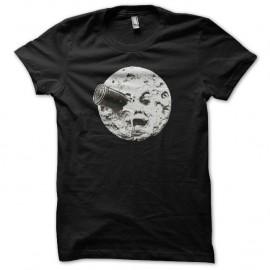 Shirt Georges Méliès voyage dans la lune noir pour homme et femme