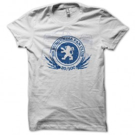 Shirt 205 fan club blanc pour homme et femme