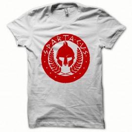Shirt Spartacus rouge/blanc pour homme et femme