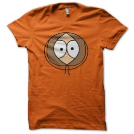Shirt South Park Kenny face orange pour homme et femme