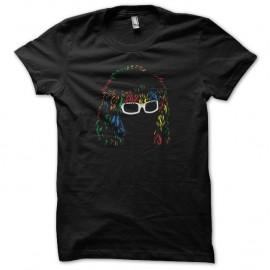 Shirt Michel Polnareff dessin 6 couleurs noir pour homme et femme