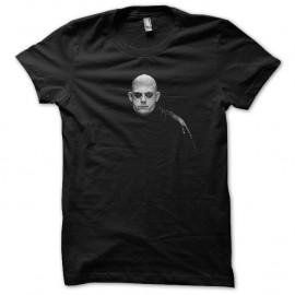 Shirt Fetide Addams portrait en trame noir pour homme et femme