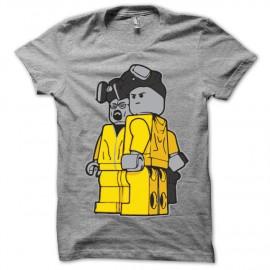 Shirt Breaking bad lego gris pour homme et femme