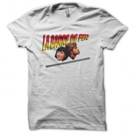 Shirt La barre de fer blanc pour homme et femme