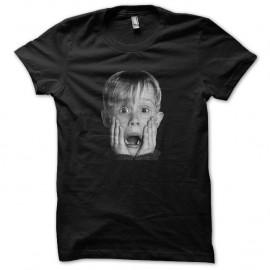 Shirt Kevin McCallister portrait en trame noir pour homme et femme