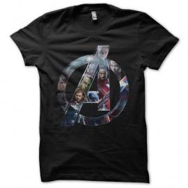 Shirt Avenger pour les fans noir pour homme et femme