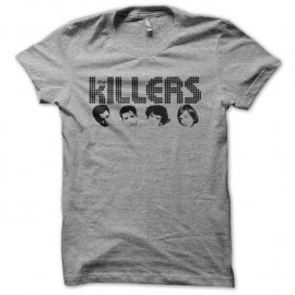 Shirt The Killers gris pour homme et femme